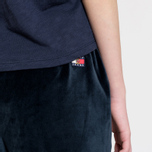 Женские брюки Tommy Jeans Crest Velvet Dark Sapphire фото- 3