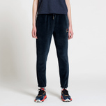 Женские брюки Tommy Jeans Crest Velvet Dark Sapphire фото- 1