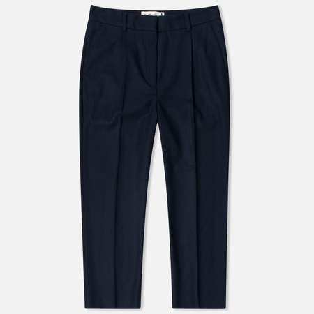 Женские брюки YMC High Waisted Wool Navy