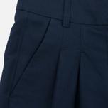 Женские брюки YMC Linen Peg Navy фото- 2