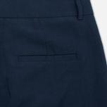 Женские брюки YMC Linen Peg Navy фото- 3