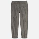 Женские брюки YMC Peg Grey фото- 0