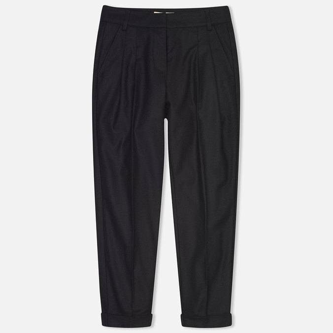 YMC Peg Women's Trousers Navy