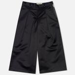 Женские брюки YMC Satin Culottess Navy фото- 0