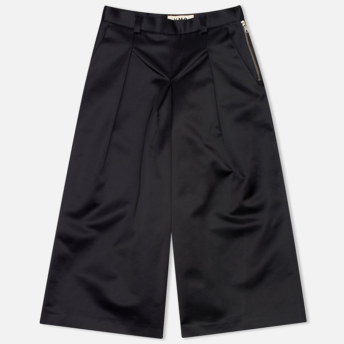 Женские брюки YMC Satin Culottess Navy