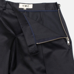 Женские брюки YMC Satin Culottess Navy фото- 3