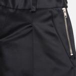 Женские брюки YMC Satin Culottess Navy фото- 1