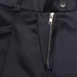 Женские брюки YMC Satin Culottess Navy фото- 2