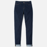 Carhartt WIP W' Anny Ankle 10.5 Oz Women's Jeans Blue Rinsed photo- 0