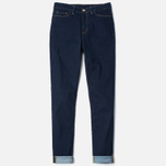 Женские джинсы Carhartt WIP W' Ashley Ankle 10.5 Oz Blue Rinsed фото- 0