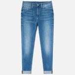 Carhartt WIP W' Ashley Ankle High Stretch 10 Oz Women's Jeans Blue photo- 0