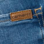 Carhartt WIP W' Ashley Ankle High Stretch 10 Oz Women's Jeans Blue photo- 4