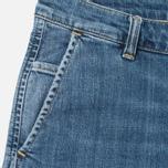 Женские джинсы Carhartt WIP W' Casey Ankle 10 Oz Blue Rib Washed фото- 1