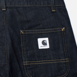 Carhartt WIP W' Casey Ankle 10 Oz Women's Jeans Blue Rinsed photo- 3