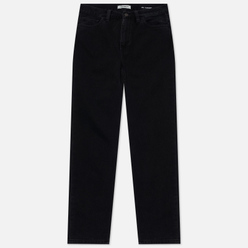 Женские джинсы Carhartt WIP W' Mita 10.5 Oz Black Stone Washed