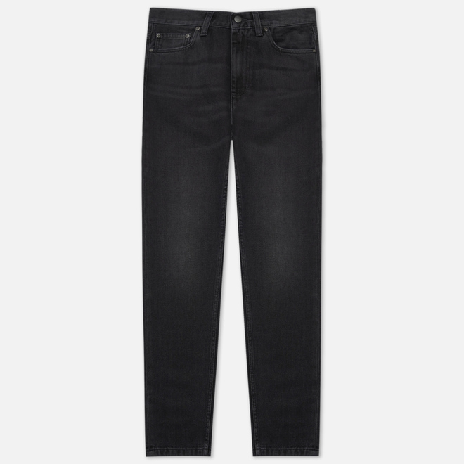 Женские джинсы Carhartt WIP W' Page Carrot Ankle Slim 10.5 Oz Black 90s Wash