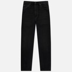 Женские джинсы Carhartt WIP W' Page Carrot Ankle Slim 10.5 Oz Black 90s Wash