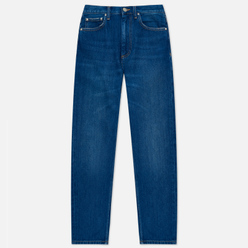 Женские джинсы Carhartt WIP W' Page Carrot Ankle Slim 13 Oz Blue Dark Stone Washed