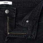Женские джинсы Edwin EW-30 Boyfriend Black Black Powerstretch 10.5 Oz Black Used фото- 2
