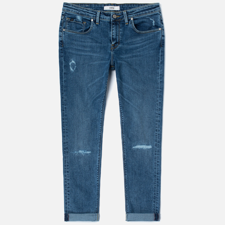 Женские джинсы Edwin EW-30 Boyfriend CS Night Blue 11 Oz Broken Washed