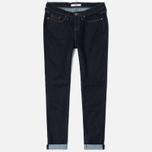 Женские джинсы Edwin EW-70 Blue Powerstretch 11 Oz Rinsed фото- 0