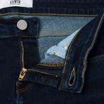 Женские джинсы Edwin EW-70 Compact Blue Powerstretch 11 Oz Dark Kick Used фото- 2