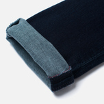 Женские джинсы Edwin EW-70 Compact Blue Powerstretch 11 Oz Dark Kick Used фото- 4
