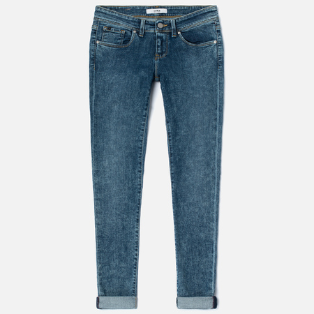 Женские джинсы Edwin EW-90 Super Skinny Blue Powerstretch 12 Oz True Stone