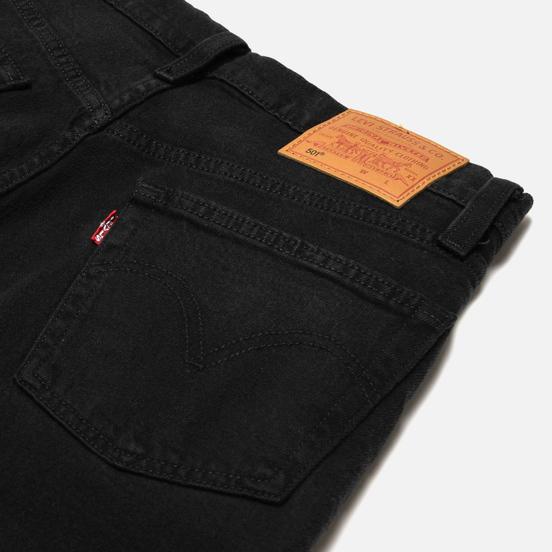 Женские джинсы Levi's 501 Crop Black Heart