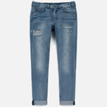 Женские джинсы Levi's 505 C Orange Tab Slim Straight Blue On Blue фото- 0