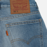 Женские джинсы Levi's 505 C Orange Tab Slim Straight Blue On Blue фото- 5