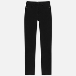 Женские джинсы Levi's 724 High Rise Straight Black Sheep