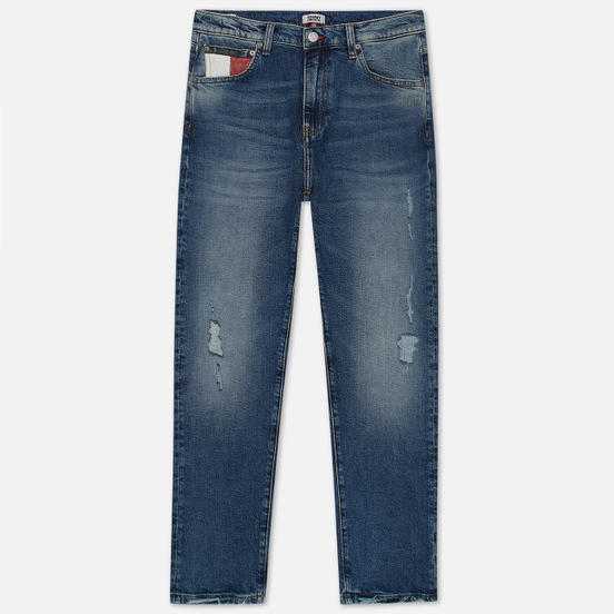 Женские джинсы Tommy Jeans Boyfriend Relaxed Fit Sylvia Mid Blue Com