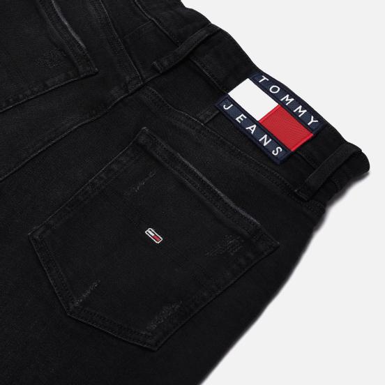 Женские джинсы Tommy Jeans High Rise Tapered Mom Fit Cake Black Com