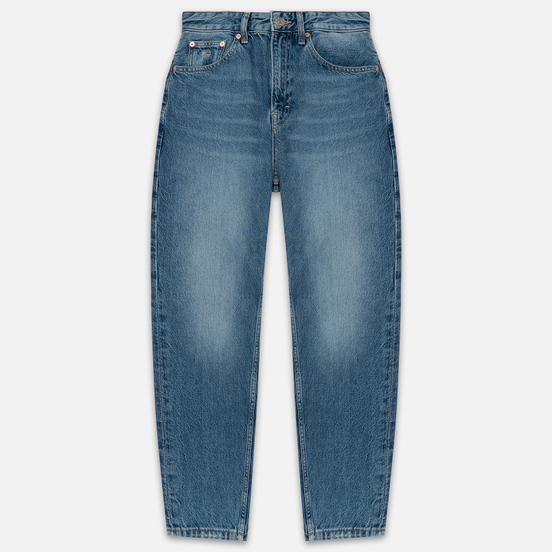 Женские джинсы Tommy Jeans High Rise Tapered Mom Sunday Mid Blue Rig