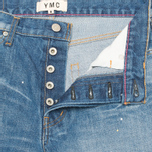 YMC Japanese Women's Jeans Indigo Blue photo- 2