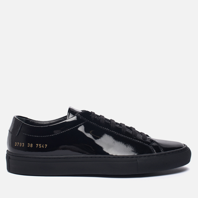 Женские кеды Common Projects Achilles Low Gloss Black
