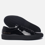 Женские кеды Common Projects Achilles Low Gloss Black фото- 1