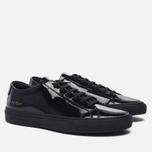 Женские кеды Common Projects Achilles Low Gloss Black фото- 2