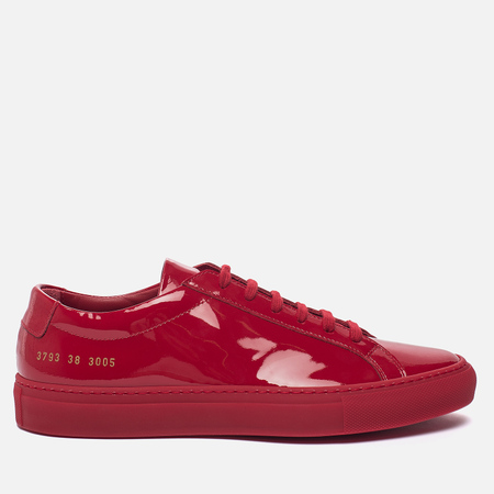 Женские кеды Common Projects Achilles Low Gloss Red