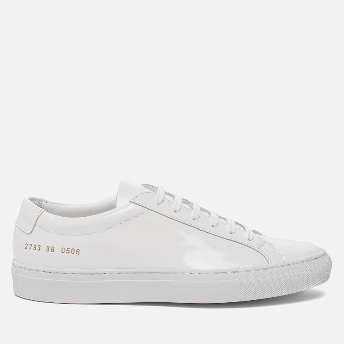 Женские кеды Common Projects Achilles Low Gloss White