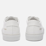 Женские кеды Common Projects Achilles Low Gloss White фото- 5