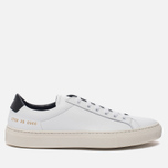 Женские кеды Common Projects Achilles Retro Low White фото- 0