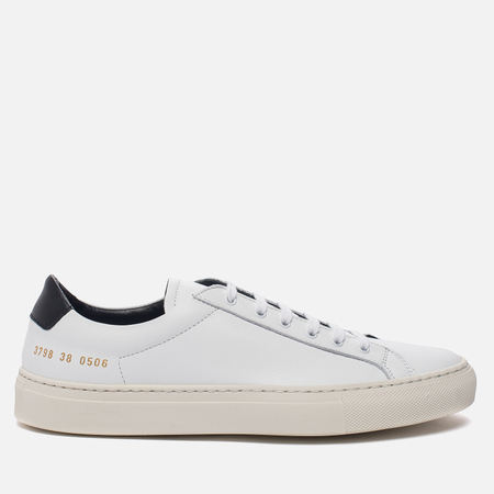 Женские кеды Common Projects Achilles Retro Low White