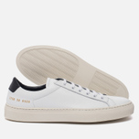 Женские кеды Common Projects Achilles Retro Low White фото- 1