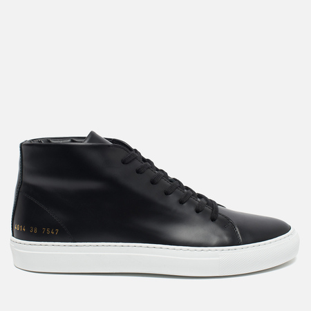 Common Projects New Court Mid Leather Women's plimsoles Black