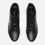 Женские кеды Common Projects New Court Mid Leather Black фото- 4