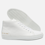 Женские кеды Common Projects New Court Mid Leather White фото- 1