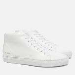 Женские кеды Common Projects New Court Mid Leather White фото- 2