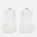 Женские кеды Common Projects New Court Mid Leather White фото- 5